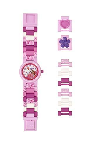LEGO Relojes y Relojes de Cuarzo Plástico Niña Color Rosa (Modelo: 8021247)