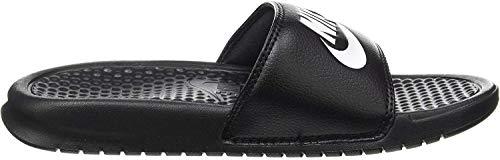 Nike Herren Benassi JDI Flip Flop, Schwarz (Black/White), 42.5 EU