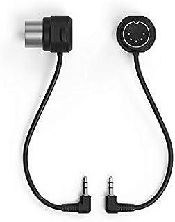 "WIDI TRS 2.5mm to 5-PIN DIN MIDI Cable (Type B) Accessory Option Set (2X) 2.5mm (3/32"") Male TRS MIDI to 5-PIN DIN Male MI..."