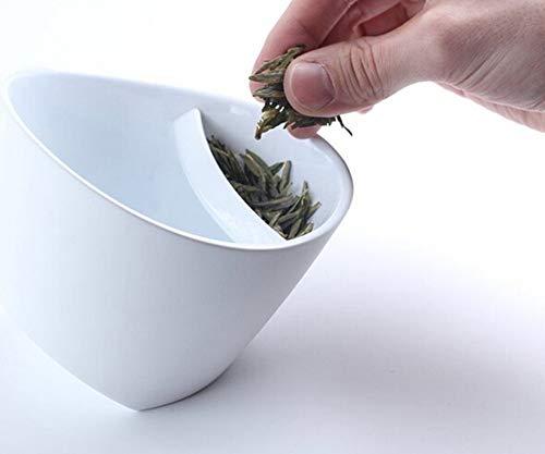 IGRNG Kreative Filter Teetasse Kunststoff Tilt Teetasse Kippen Teetasse Personalisierte Clevere Smart Teetasse Tilt Cup Mit Infuser 250ml