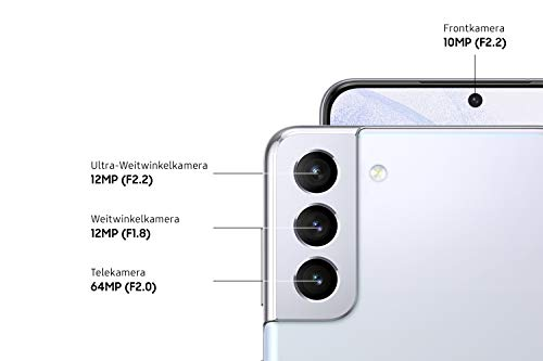 Samsung Galaxy S21+ 5G, Android Smartphone ohne Vertrag, Triple-Kamera, Infinity-O Display, 256 GB Speicher, leistungsstarker Akku, Phantom Silver - 3