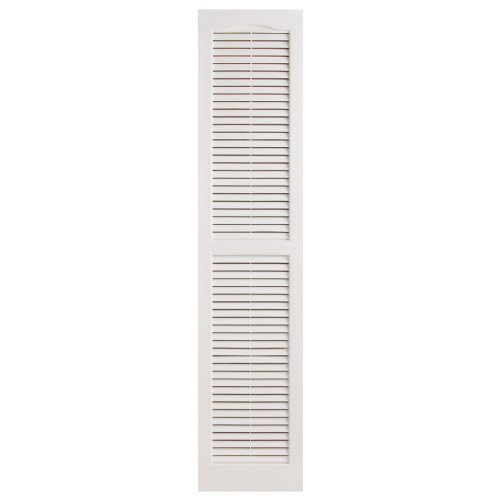 Alpha VNB1563WHOL 14-Inch by 63-Inch Open Louver, White, 2-Pack