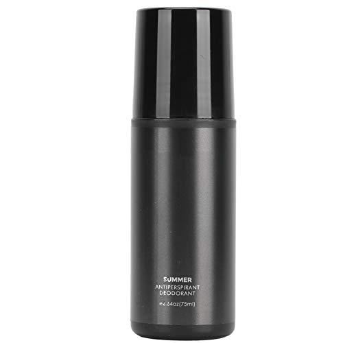 Desodorante antitranspirante, Desodorante roll-on para axilas para hombres, Desodorante antitranspirante para axilas con fragancia ligera Antitranspirante invisible Protección contra el olor 75 ml