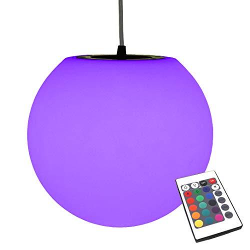 PK Green Luminaire Suspension LED, 20cm, Couleur Changeante