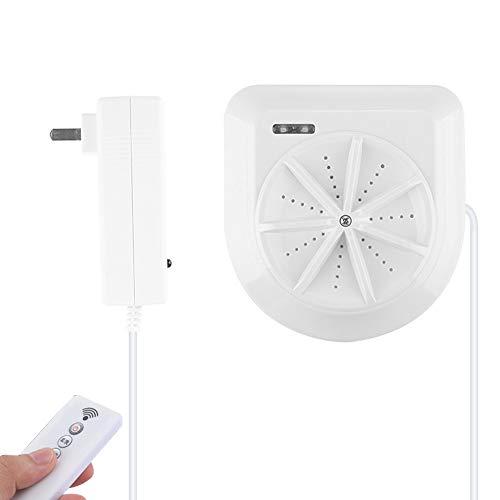 HOUSEHOLD Mini Lavadora Portátil, Pequeña Lavadora de Turbina Ultrasónica, Lavadora de Viaje con Carga USB,para RV De Negocios de Dormitorio de Camping Familiar
