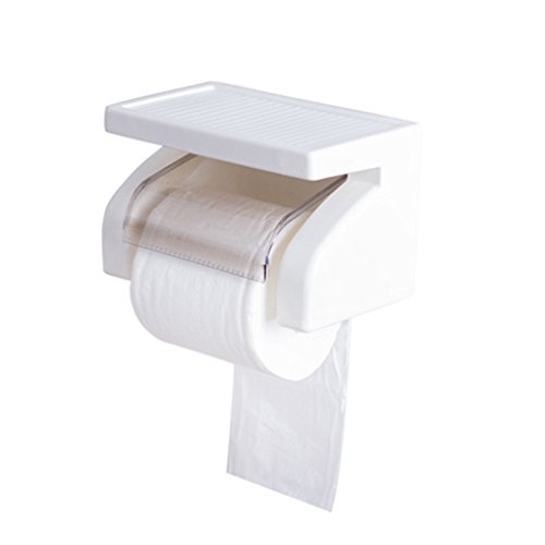 zhibeisai Durable Waterproof Bathroom Accessories Plastic Toilet Paper Holder Box Holder Roll Paper Bracket