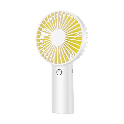 Mini Ventilador de Mano, Ventiladores USB de 4000mAh Recargable Batería, 6-15 Horas,...