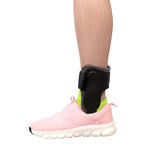 in-Motion Ankle Brace, Adjustable Ankle Support, Protection and Recovery from Ankle Sprains, Sports Injury, Tendonitis, and Ankle Instability by Brace Direct
