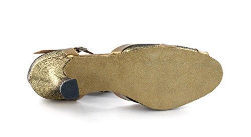 Minitoo , Damen Tanzschuhe , Gold – gold – Größe: 39 - 7
