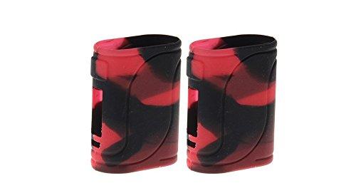 RAYEE Carcasa protectora de silicona para Eleaf iStick Pico 25 85W Mod Case (Negro)