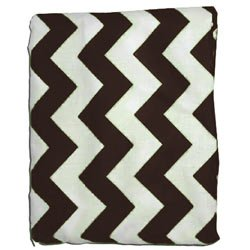 Chevron Our shop most popular Max 57% OFF Bassinet Sheet - Color: Size: Brown 17x31