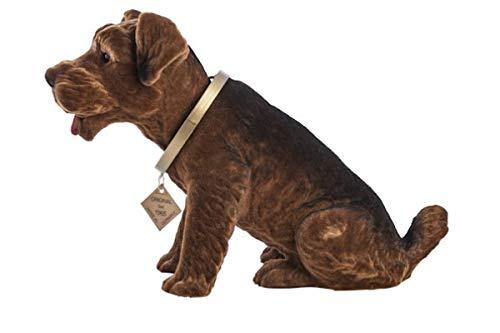 RAKSO Wackel Hund Airedale Terrier groß, bobblehead