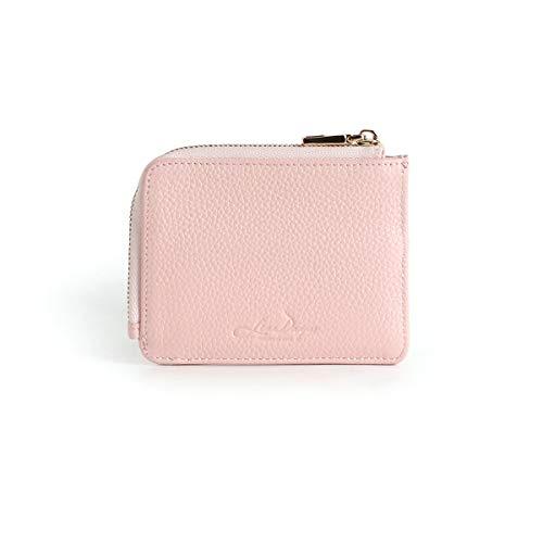 財布 ミニ財布 上質な牛革 コインケース カードケース レディース メンズ (シーシェル) [並行輸入品]