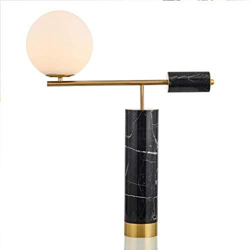 HFA Lampe de Table Simple Postmodern Art Creative Marbre Bureau Lampe Chambre Chevet Villa Salle