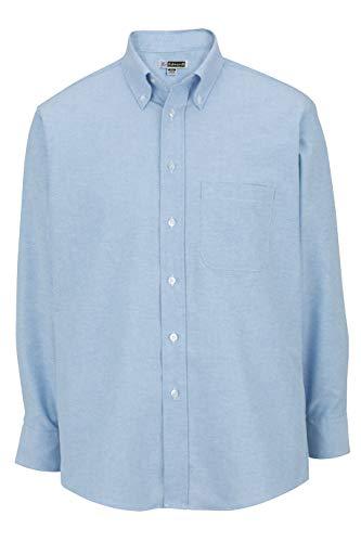Edwards Ropa Camisa de Manga Larga Oxford para Hombre