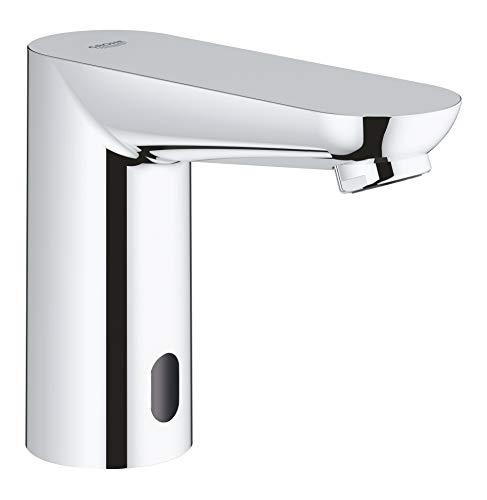 Grohe - Infrarot Sensorarmatur, Waschtisch, Kaltwasserarmatur, mit Batterie, Funktionsmodi, Chrom, Euroeco CE