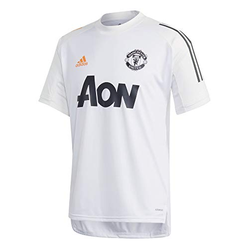 adidas Manchester United White Training Jersey 2020/21-L