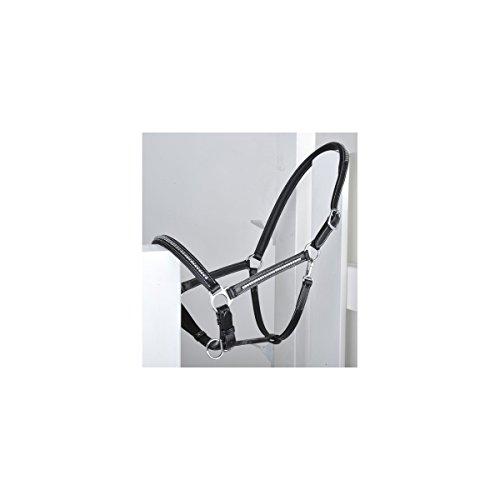 HKM 540654 Lea Licol en Cuir pour Pur-Sang Noir/argenté