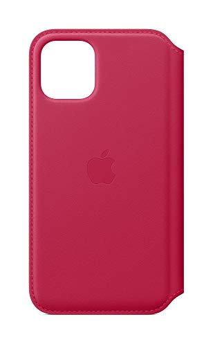Apple Leder Folio (iPhone 11 Pro) - Himbeere