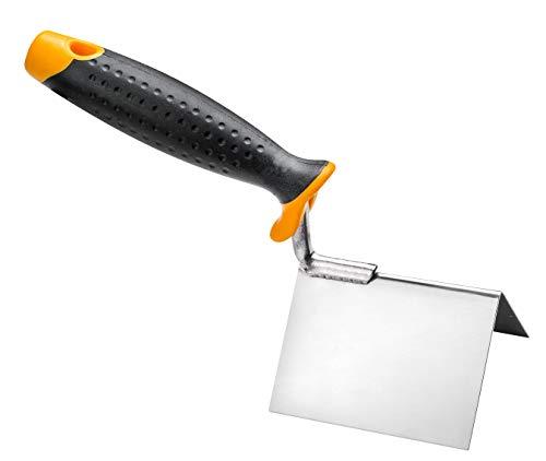 Paleta de esquina exterior exterior con mango de dos componentes, 8 cm x 6 cm x 6 cm, alta calidad