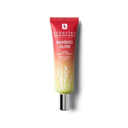 """Erborian - Bamboo Glow - Crème Hydratante, Effet Bonne Mine - Soin à Effet """"Rosée"""" - Soin du Visage Coréen - 30ml"""