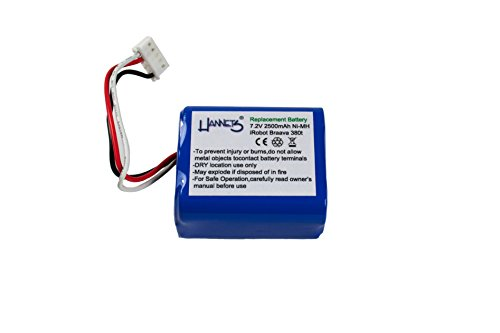 Batterie de Hannets® compatible avec iRobot Braava Mint Plus 5200