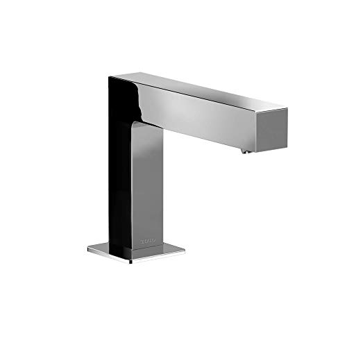 TOTO TEL143-D20EM#CP, Polished Chrome Axiom EcoPower 0.35 GPM Electronic Touchless Sensor Bathroom Faucet with Mixing Valve