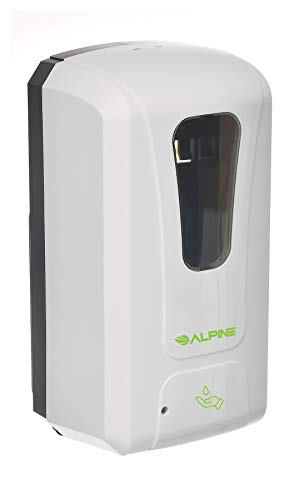 Alpine Industries Automatic Soap Dispenser - Touchless Hand...