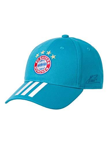 adidas FC Bayern Baseball Cap Signature Baseballkappe, Labgrn/White, OSFM