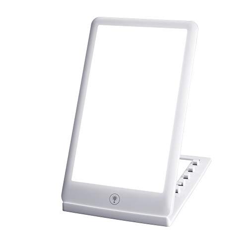 SAD Light Therapy Lampe, 3000 – 32000 Lux, Lichtsimulation, 3 Helligkeitsmodi, SAD Lichttherapie für saisonale Störungen, SAD / Depression, geeignet für Haus/Büro (weiß)