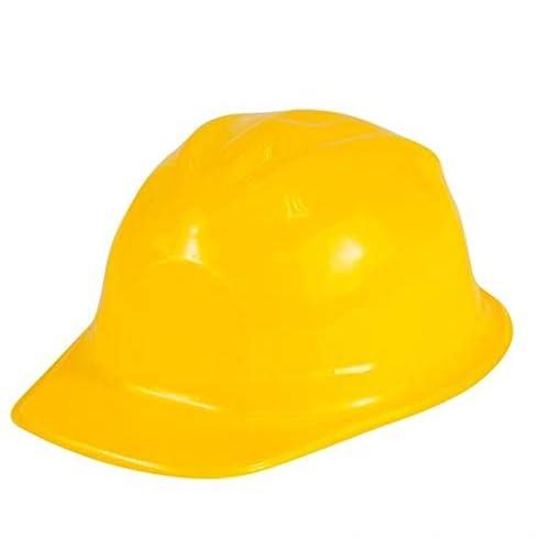 New Girl/'s Pink Plastic Construction Hard Hats Costume Accessory Twelve 12