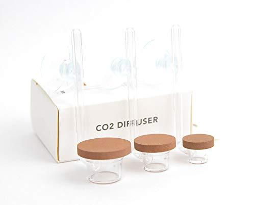 Twinstar Co2 Diffusor S Acrylglas extrem feinperlig neue Form incl. Saugnapf Aquarium