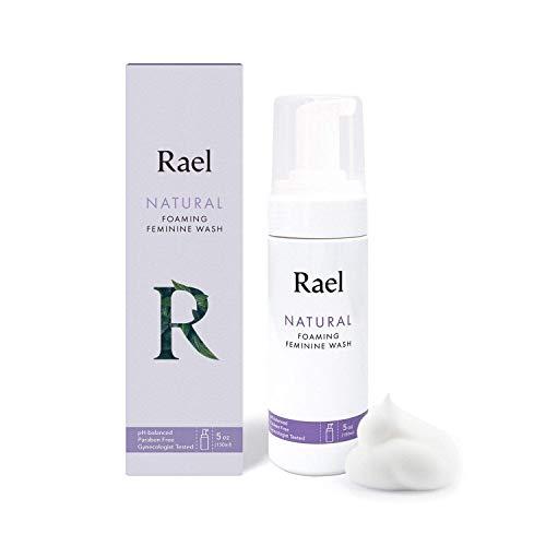 Rael Natural Feminine Cleansing Wash - Foaming Wash, pH-balanced, Sensitive Skin, Light&Fresh Scent, Daily Cleansing use, Natural ingredients (5oz, 1Pack)