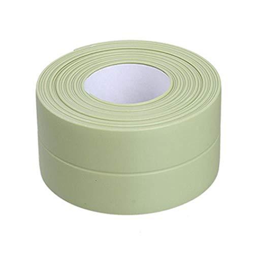 Nieuwe 3.2mx22mm 38mm Badkamer Douchebak Bad Afdichtstrip Tape Wit Zelfklevende Waterdichte Muursticker voor Badkamer Keuken, 3 groene 38mm, Australië