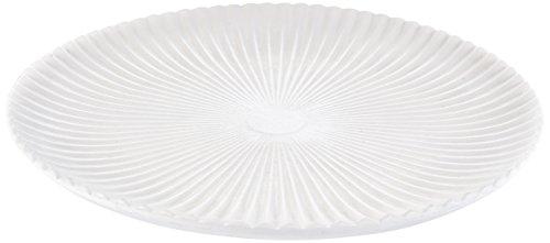 HEITMANN DECO Deko-Teller rund aus Holz - Servier-, Deko- und Obstteller - Tischdeko - Weiß