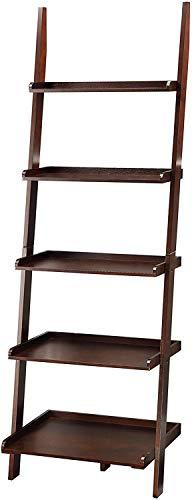 Convenience Concepts American Heritage Bookshelf Ladder, Espresso
