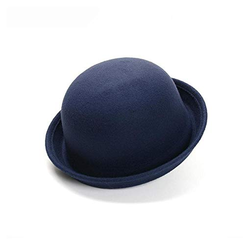 HNJYXX Sombrero de Copa Viseras Dobladillo de la Gorra de Domo Fiesta de Baile de estambre Sombrero de Cubo para Mujer al Aire Libre 56-58cm A6