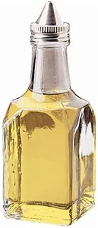 WIN WARE 1 X Clear Oil Vinegar Cruet Jar Bottle Dispenser For Use With Cruet Rack Or Table Organiser
