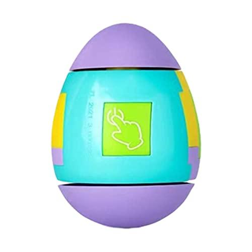 Trompos Giratorios para Niños, Bloque de Construcción de Dedos de Escritorio Gyro Egg Juguetes Giratorios Vaso Creativo Juguete Favores de Fiesta Juguete de Descompresión