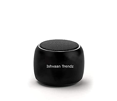 ISHVAAN TRENDZ...A unit of commitments with intigrity ® Super Ultra Boost Mini/Nano Wireless Portable Bluetooth Speaker Built-in Mic (Multicolour)