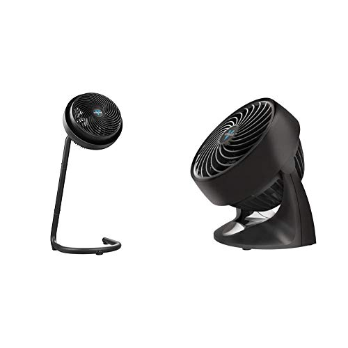 Vornado 783 Full-Size Whole Room Air Circulator Fan with Adjustable Height & 133 Compact Air Circulator Fan