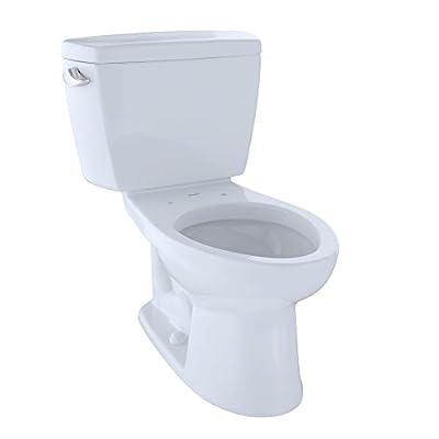 Toto CST744SF.10#01 CST744SF.10No.01 Drake Two-Piece Toilet, 1.6-GPF Cotton