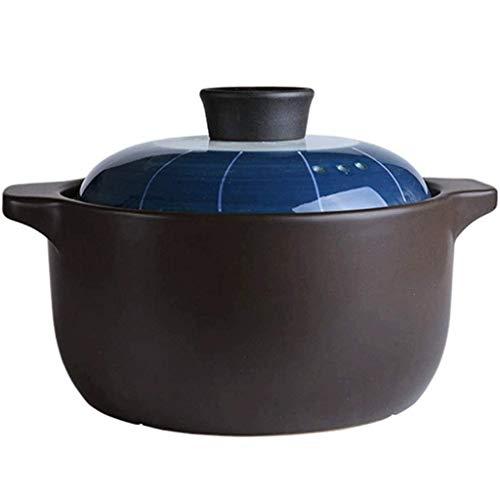 WCY Casserole - Vintage Céramique Casserole Résistance Haute température marmite à Soupe Faitout émail Pot Glaze yqaae