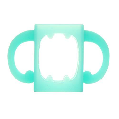 Rryilong Babyflaschengriff Bottle-Halter,Weiches Silikon,Zubehör Für Hitzebeständige Saugflaschen