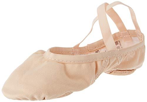 Wear Moi Vesta Stretch Canvas Ballet Slippers, Dark Pink, 37M (WMVESDPI37)