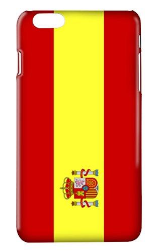 Funda carcasa bandera España para Iphone 6 6S plástico rígido