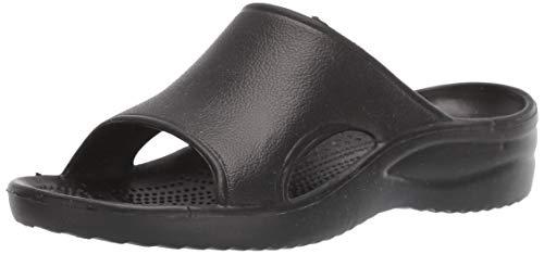 DAWGS Women's Ladies Slide Sandal,Black,8 M US