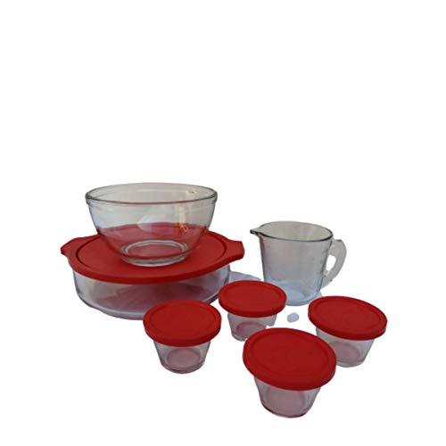 Juego de hornear de vidrio 12 piezas/Glass Baking Set