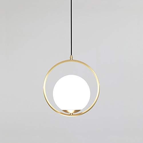 Lyuez Kunst-glazen cirkelluchter modern restaurant bar decoratie lamp slaapkamer woonkamer nacht zacht licht leeslamp plafond