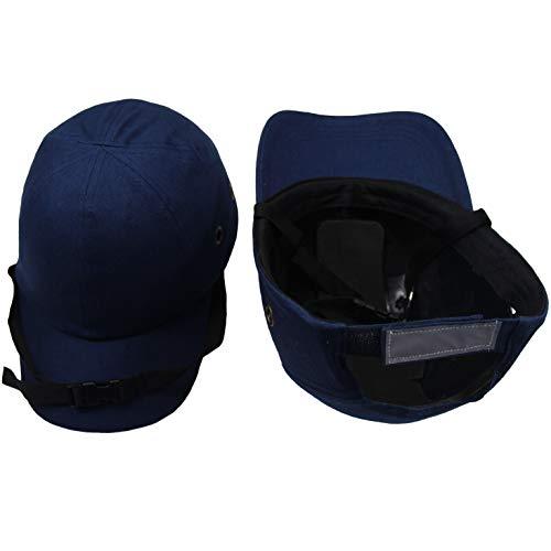 ベースボールキャップ型 軽量 安全帽 防災用 ヘルメット 防災用品 軽作業帽子 キャップ 保護帽子 内蔵 インナーキャップ 通気 顎紐付け